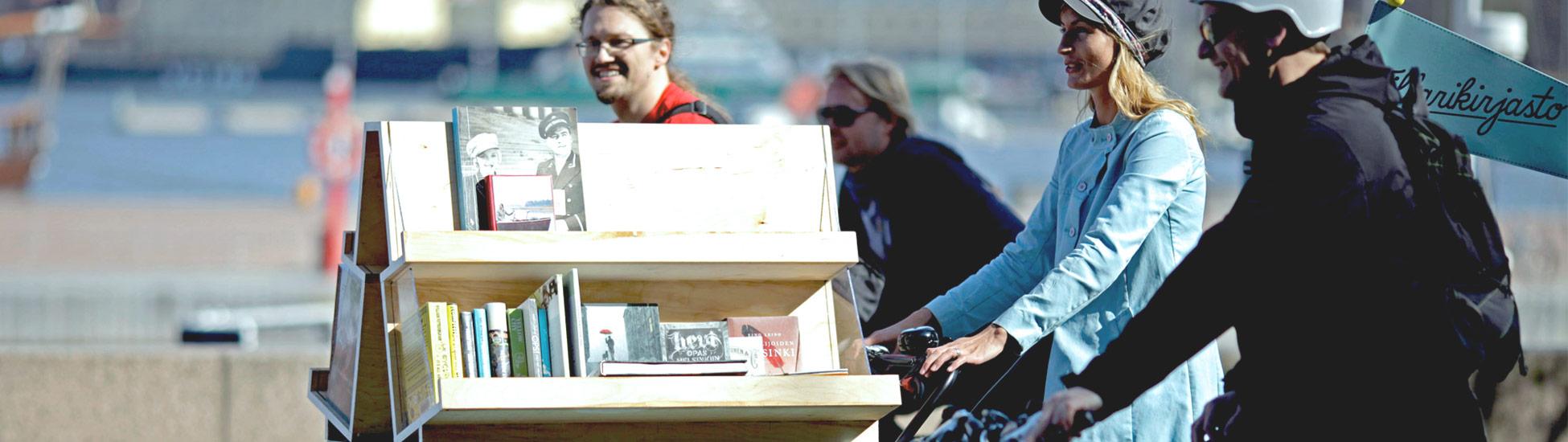 Oodi: Bike library